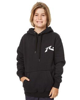 BLACK KIDS BOYS RUSTY JUMPERS - FTB0245BLK