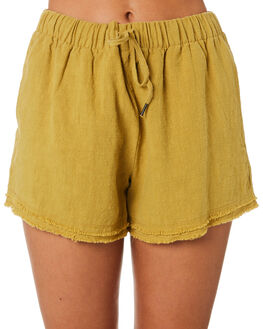CHARTREUSE WOMENS CLOTHING RUSTY SHORTS - WKL0669CRT