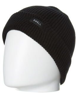 BLACK MENS ACCESSORIES SWELL HEADWEAR - S5173761BLK