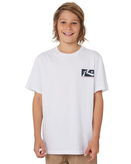 WHITE KIDS BOYS RUSTY TOPS - TTB0607WH1