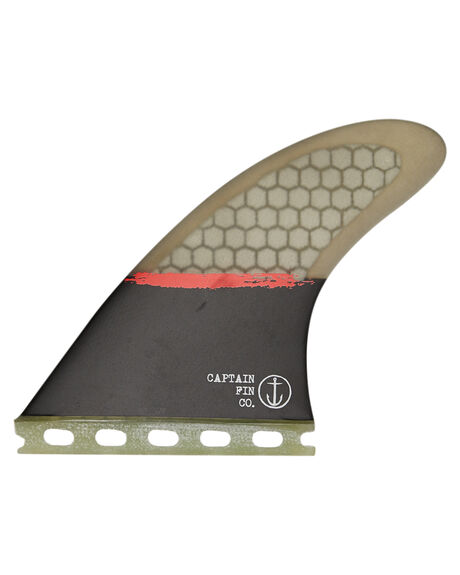 BLACK BOARDSPORTS SURF CAPTAIN FIN CO. FINS - CFF2211700BLK