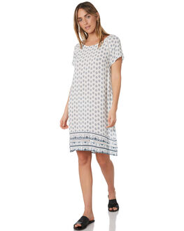 WHITE WOMENS CLOTHING RIP CURL DRESSES - GDRHP11000