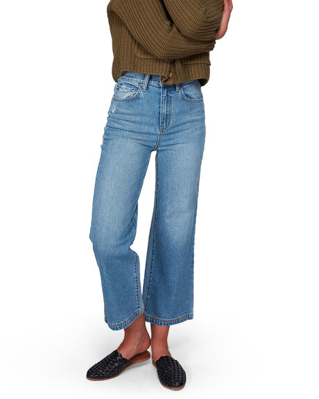 BLUE WOMENS CLOTHING BILLABONG JEANS - BB-6508433-BLU