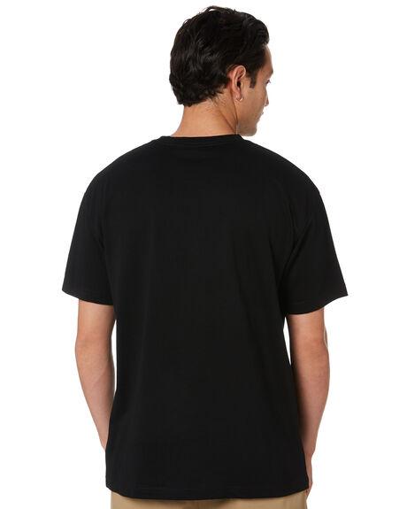 BLACK MENS CLOTHING AS COLOUR TEES - 5050BLK