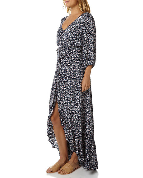 BABY BLOOMS NAVY WOMENS CLOTHING AUGUSTE DRESSES - AUG-TOR3-16242BBNVY