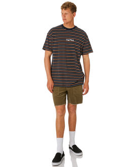 NAVY MENS CLOTHING MISFIT TEES - MT092101NAVY
