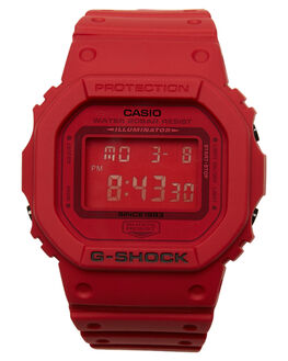 RED  RED MENS ACCESSORIES G SHOCK WATCHES - DW5635C-4DREDRD