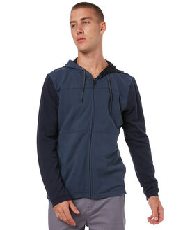 OBSIDIAN MENS CLOTHING HURLEY JUMPERS - 894970451
