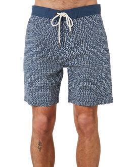BLUE POOL MENS CLOTHING MCTAVISH BOARDSHORTS - MS-19BS-08BLPO
