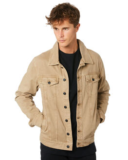 KHAKI MENS CLOTHING RIP CURL JACKETS - CJKEN10064
