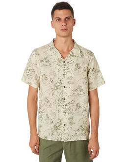 CEMENT OUTLET MENS THRILLS SHIRTS - TH9-202GCEMNT
