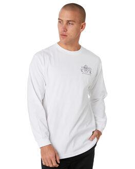 WHITE MENS CLOTHING KROOKED TEES - 52023020AWHT