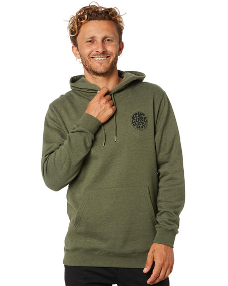 OLIVE MENS CLOTHING RIP CURL JUMPERS - CFEEB90058