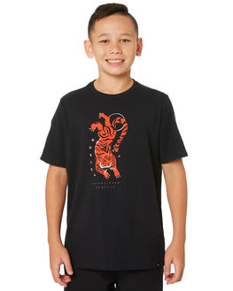 BLACK KIDS BOYS HURLEY TOPS - AR4113-010