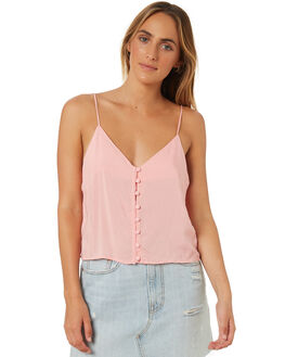 PINK WOMENS CLOTHING ALL ABOUT EVE FASHION TOPS - 6403007PNK