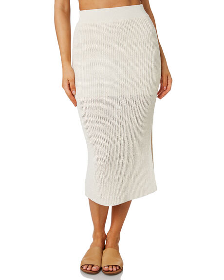 NATURAL WOMENS CLOTHING ZULU AND ZEPHYR SKIRTS - ZZ2577NAT