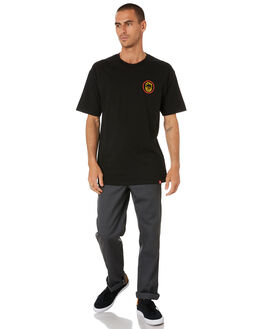 BLACK RED GOLD OLIVE MENS CLOTHING SPITFIRE TEES - 51010238AOBRGO