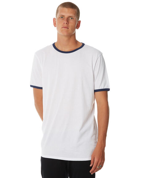 WHITE NAVY MENS CLOTHING SWELL TEES - S5174016WHTNY