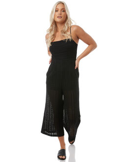 BLACK WOMENS CLOTHING MINKPINK PLAYSUITS + OVERALLS - MP1710476BLK