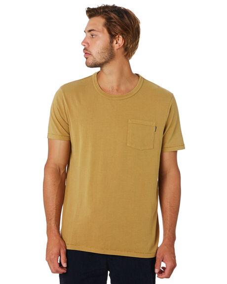 CARAMEL MENS CLOTHING ACADEMY BRAND TEES - 20S430CARML