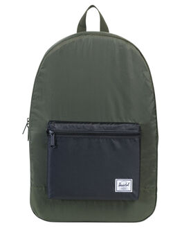 FOREST NIGHT BLACK MENS ACCESSORIES HERSCHEL SUPPLY CO BAGS - 10076-01592-OSFOR