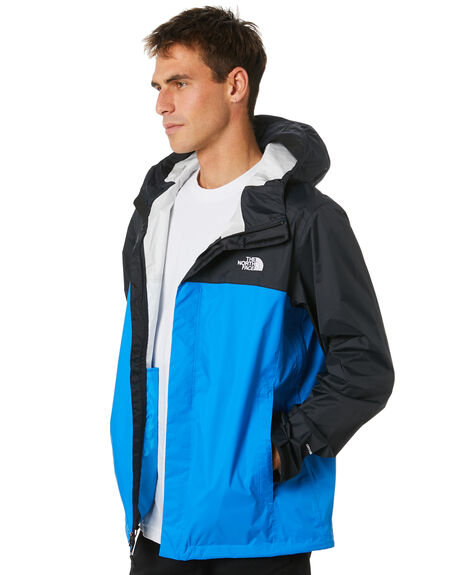 LAKE BLUE TNF BLACK MENS CLOTHING THE NORTH FACE JACKETS - NF0A2VD3ME9