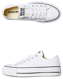 WHITE WOMENS FOOTWEAR CONVERSE SNEAKERS - 560251WHITE