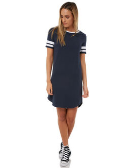 ECLIPSE NAVY WOMENS CLOTHING ELEMENT DRESSES - 286863AECN