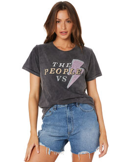 BLACK ACID WOMENS CLOTHING THE PEOPLE VS TEES - HS19W008BLK