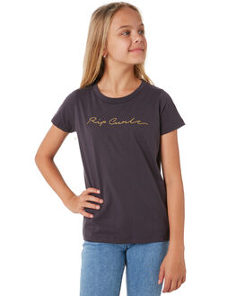 NINE IRON KIDS GIRLS RIP CURL TOPS - JTEEQ14285