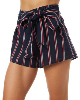 NAVY W RUBY WOMENS CLOTHING THE FIFTH LABEL SHORTS - 40171181-5NAVY