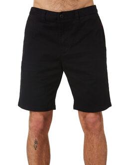 BLACK MENS CLOTHING GLOBE SHORTS - GB01216001BLK