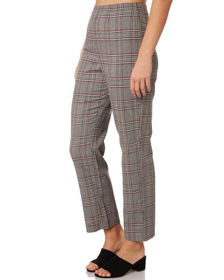 CHECK WOMENS CLOTHING LULU AND ROSE PANTS - LU23769CHECK