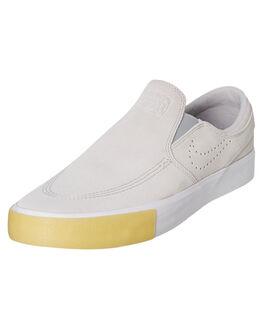 WHITE MENS FOOTWEAR NIKE SKATE SHOES - CD6613-100