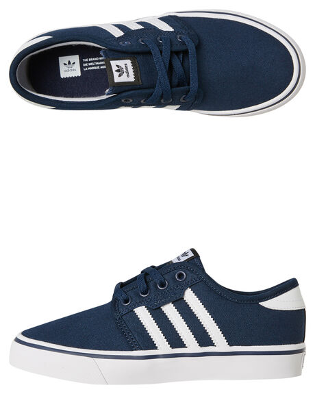 COLLEGIATE NAVY KIDS BOYS ADIDAS SNEAKERS - BY3840NVY
