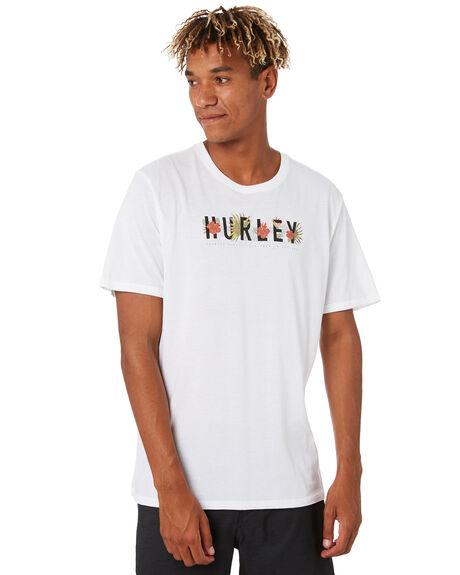 WHITE MENS CLOTHING HURLEY TEES - CJ6783100