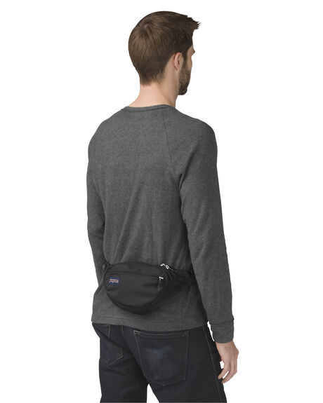 BLACK MENS ACCESSORIES JANSPORT BAGS + BACKPACKS - JS00TAN1-JS008