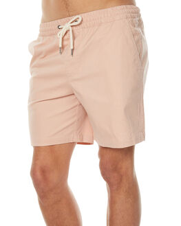 PEACH MENS CLOTHING ACADEMY BRAND SHORTS - 18S624PEA