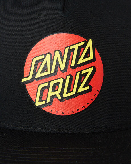 BLACK KIDS BOYS SANTA CRUZ HEADWEAR - SC-YCNC018BLK