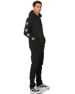 BLACK MENS CLOTHING VOLCOM JUMPERS - A4841900BLK