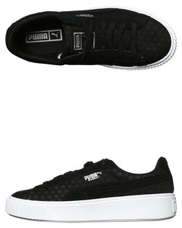 BLACK WOMENS FOOTWEAR PUMA SNEAKERS - 36410201BLK