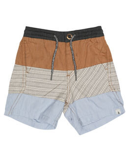 CINNAMON KIDS TODDLER BOYS VOLCOM BOARDSHORTS - Y1031700CIN