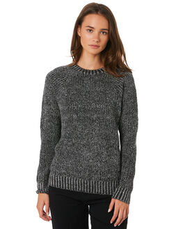 BLACK OUTLET WOMENS VOLCOM KNITS + CARDIGANS - B0711883BLK