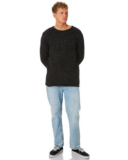 BLACK MENS CLOTHING RIP CURL KNITS + CARDIGANS - CSWEB10090