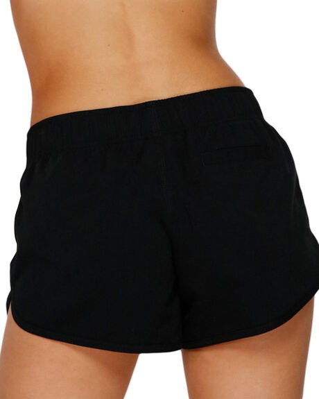 BLACK WOMENS CLOTHING BILLABONG SHORTS - BB-6591361-BLK