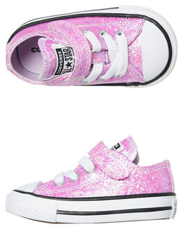 LILAC MIST KIDS GIRLS CONVERSE SNEAKERS - 765981CLILAC