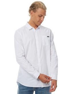 WHITE MENS CLOTHING RUSTY SHIRTS - WSM0799WHT