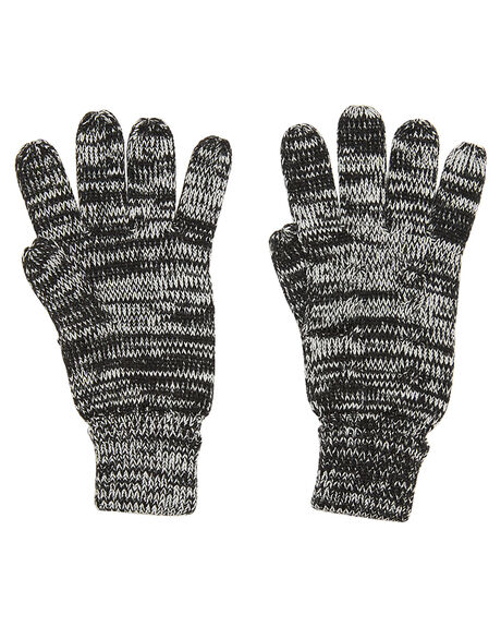 BLACK WHITE WOMENS ACCESSORIES SWELL SCARVES + GLOVES - S81731589BKWHT