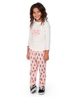 SALT CRYSTAL KIDS GIRLS BILLABONG TOPS - BB-5507073-SCY