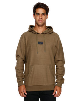CADET GREEN MENS CLOTHING RVCA JUMPERS - RV-R191154-CDG